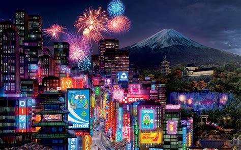 Tokyo City in Cars 2 Wallpapers   HD Wallpapers   ID #9714