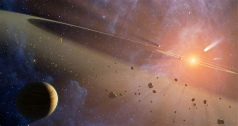 Solar System's Young Twin Has Two Asteroid Belts2008-22