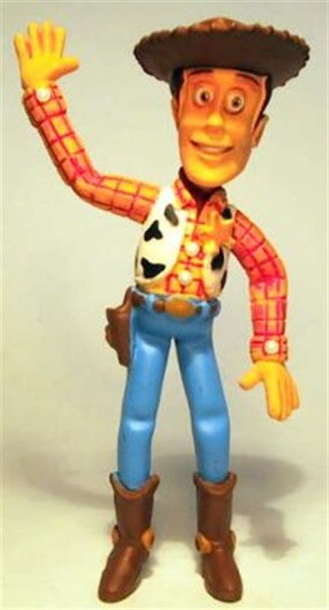 Woody waving Disney PVC figure from our PVCs collection